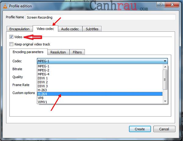 Cách quay màn hình máy tính bằng VLC có tiếng hình 10