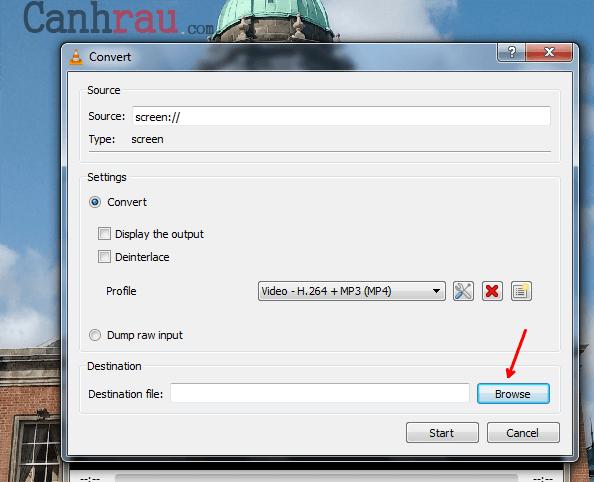 Cách quay màn hình máy tính bằng VLC có tiếng hình 11