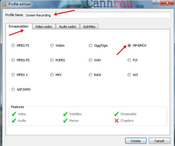 Cách quay màn hình máy tính bằng VLC có tiếng hình 9