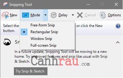 Cách sử dụng phần mềm cắt ảnh Snipping Tool hình 9