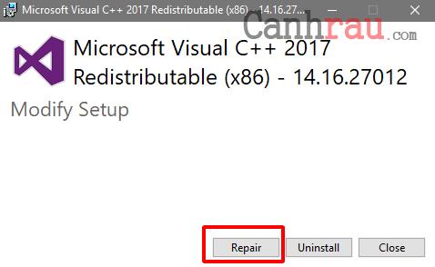 Cách sửa lỗi api-ms-win-crt-runtime-l1-1-0.dll hình 3