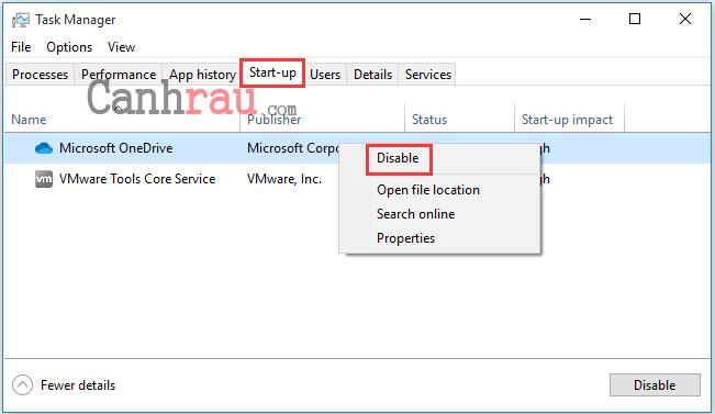 Cách sửa lỗi máy tính Windows 10 không tắt hoàn toàn được hình 13