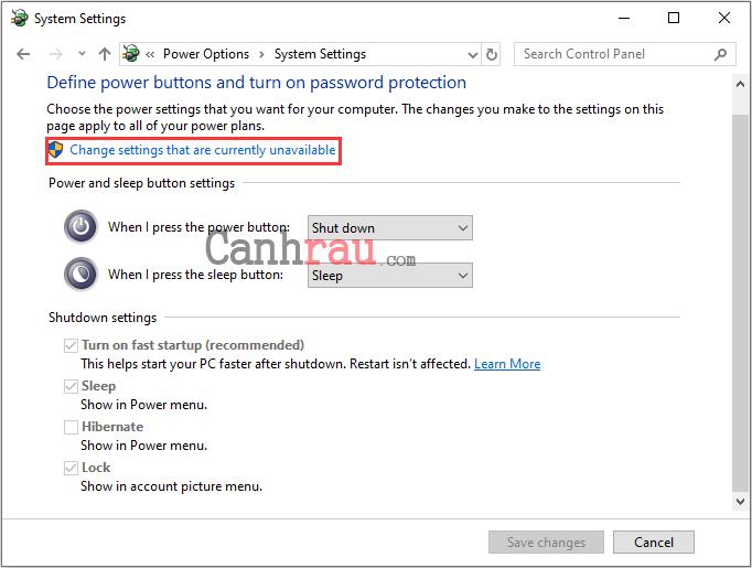 Cách sửa lỗi máy tính Windows 10 không tắt hoàn toàn được hình 4