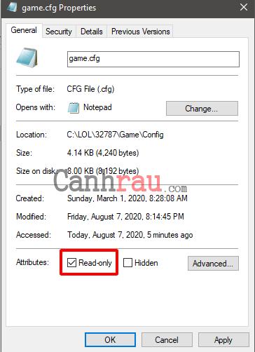 Cách tăng FPS Liên Minh Huyền Thoại LOL trên Windows 10 và 7 hình 11