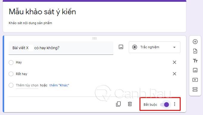 Cách tạo Google Form chuyên nghiệp hình 18