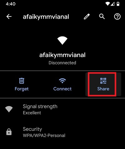 Cách xem mật khẩu Wifi trên điện thoại iOS và Android hình 5