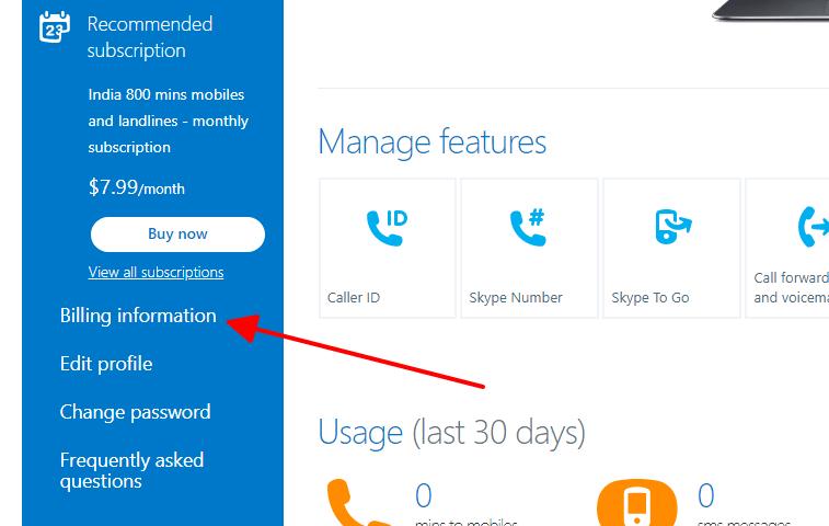 Cách xóa tài khoản Skype hình 4