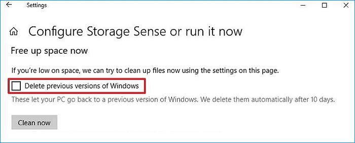 Cách xóa thư mục Windows old trong Windows 10 hình 10