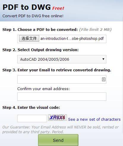 Chuyển file PDF sang CAD hình 1