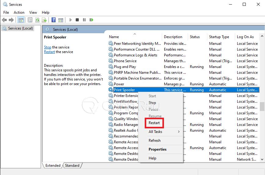 Hướng dẫn sửa lỗi máy in không in được hình 11