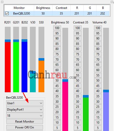 Phần mềm chỉnh độ sáng màn hình máy tính laptop hình 1