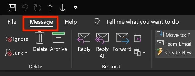 Thu hồi Email đã gửi trong Outlook hình 3