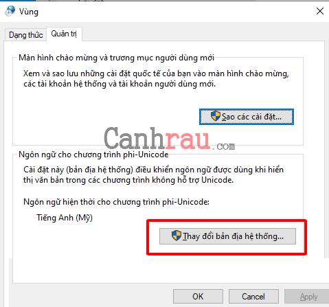 Cách cài đặt ngôn ngữ tiếng việt cho Windows 10 hình 12