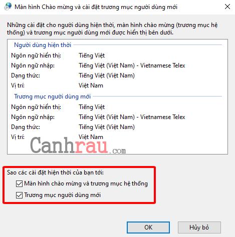 Cách cài đặt ngôn ngữ tiếng việt cho Windows 10 hình 16
