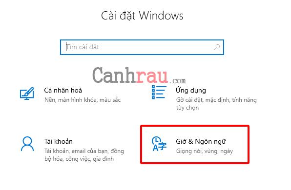 Cách cài đặt ngôn ngữ tiếng việt cho Windows 10 hình 9