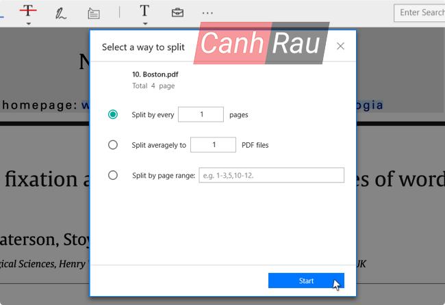 Cách cắt file trong PDF hình 5