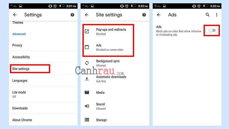 Cách chặn quảng cáo trên điện thoại Android hình 1