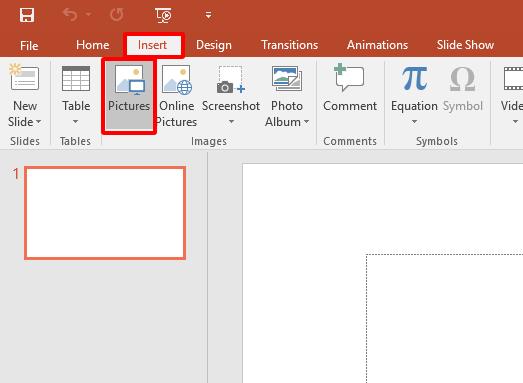 Cách chèn hình ảnh động GIF vào PowerPoint hình 1
