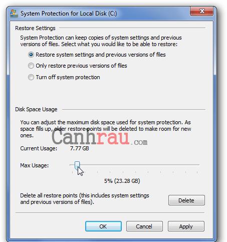 Cách dọn rác máy tính trên Windows 7 hình 13