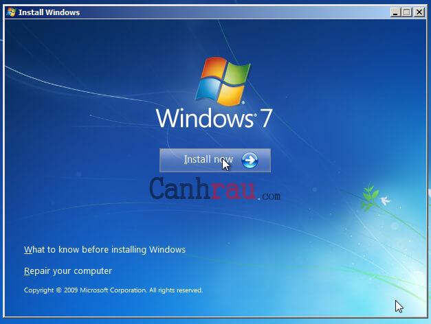 Cách hạ Windows 10 xuống Windows 7 hình 4