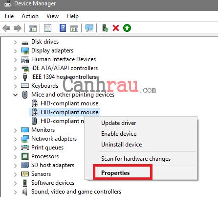 Cách sửa chuột bị double click hình 2