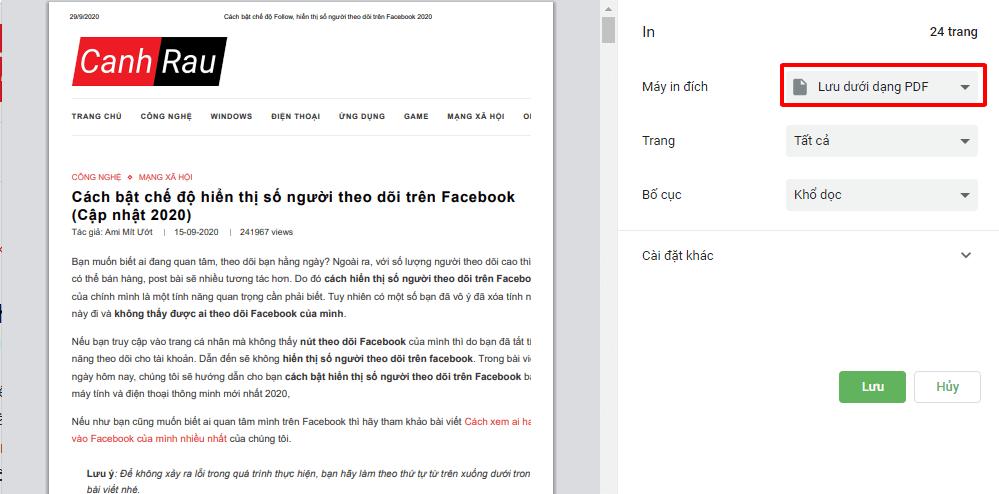 Cách tạo file PDF hình 14