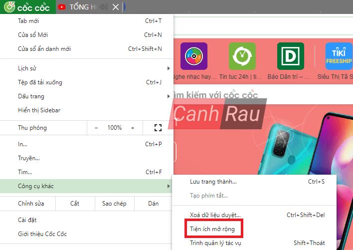 Cách tắt adblock trên trình duyệt hình 5