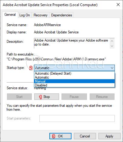 Cách tắt các service không cần thiết trong Windows 10 hình 3