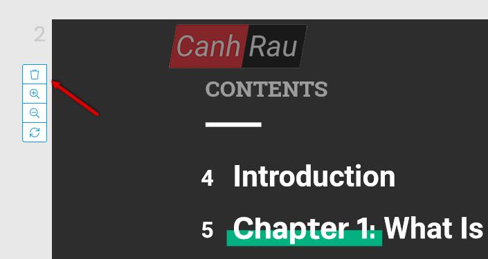 Cách xóa trang trong PDF hình 5