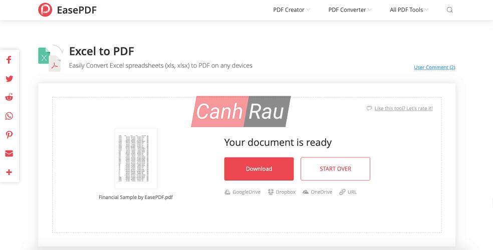 Chuyển file Excel sang PDF giữ nguyên định dạng hình 2