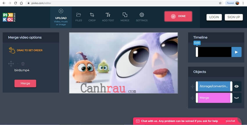 Phần mềm ghép video nhanh và miễn phí hình 4