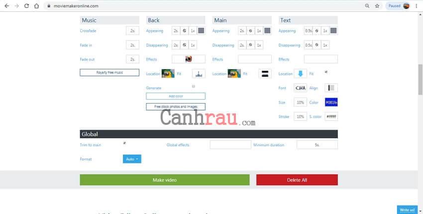 Phần mềm ghép video nhanh và miễn phí hình 6