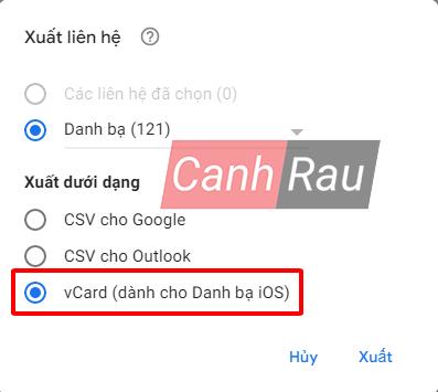 Cách chuyển danh bạ từ Gmail vào iPhone hình 14