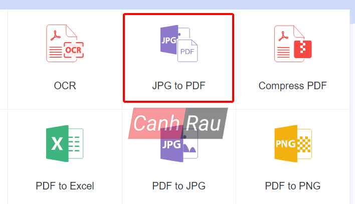 Cách chuyển file ảnh sang PDF hình 4