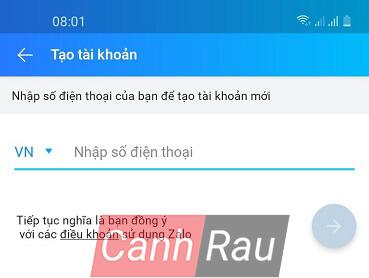 Cách đăng ký tài khoản Zalo trên máy tính và điện thoại hình 7