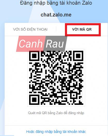 Cách đăng nhập Zalo trên máy tính hình 7