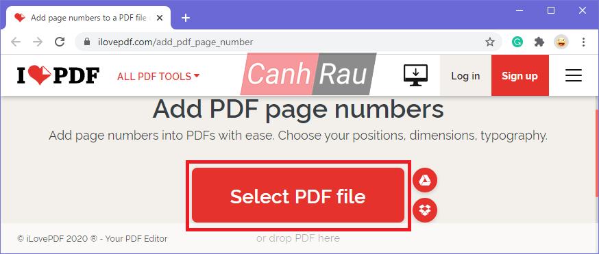 Cách đánh số trang trong file PDF hình 11
