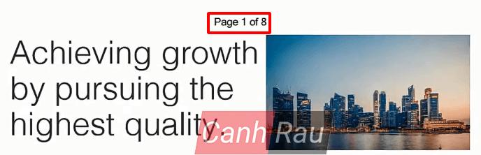 Cách đánh số trang trong file PDF hình 6