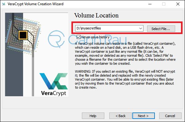 Cách đặt mật khẩu cho file và folder hình 4