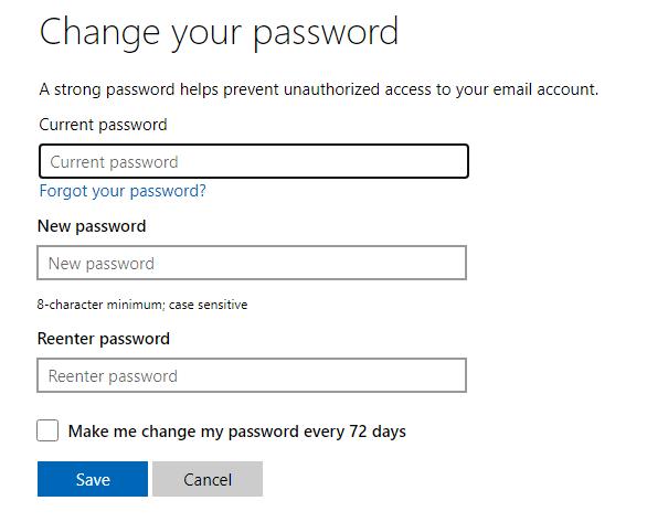 Cách đổi mật khẩu Skype hình 25