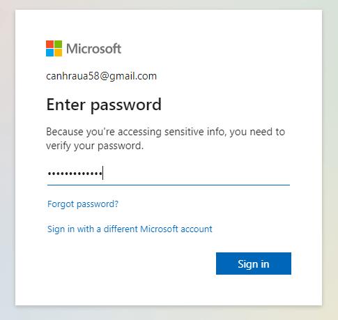 Cách đổi mật khẩu Skype hình 26