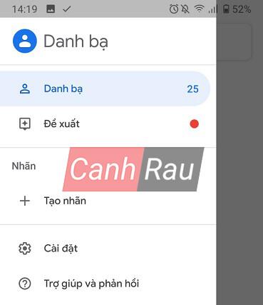 Cách đồng bộ danh bạ từ điện thoại Android lên Gmail hình 12