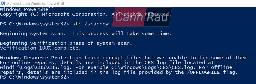 Cách fix lỗi Start Menu trên Windows 10 không hoạt động hình 4