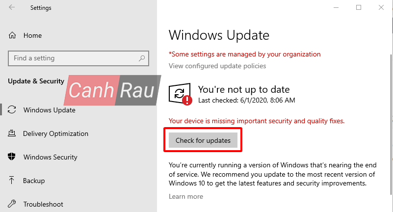 Cách fix lỗi Start Menu trên Windows 10 không hoạt động hình 8