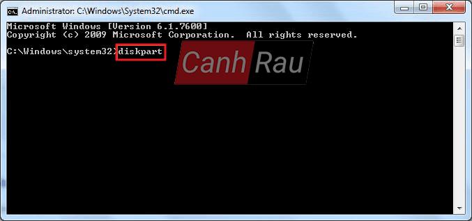 Cách format ổ cứng máy tính bằng cmd diskpart hình 5