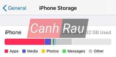 Cách giải phóng dung lượng bộ nhớ iPhone hình 2
