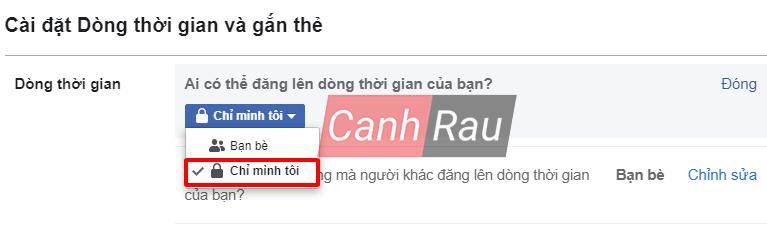 Cách khóa tường Facebook hình 11
