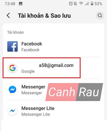 Cách lấy danh bạ từ Gmail về điện thoại hình 2