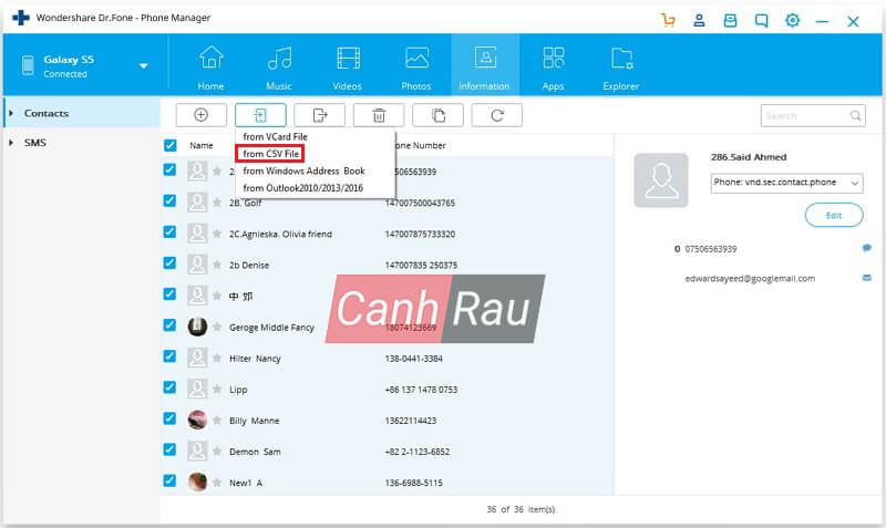 Cách lấy danh bạ từ Gmail về điện thoại hình 9