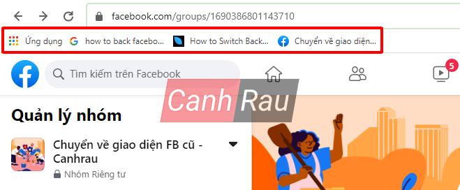 Cách quay trở lại giao diện Facebook cũ hình 9